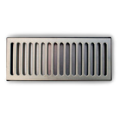 12 in. Stainless Steel Counter Mount Drip Tray