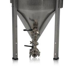 14 Gallon Blichmann Fermenator, Tri-Clamp Valves