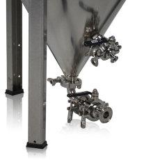 42 Gallon Bilchmann Fermenator, Tri-Clamp Valves