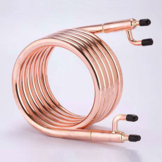 ZChiller Large Copper Counterflow Wort Chiller - NPT Fittings