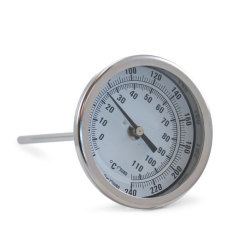 "Fermentap Brew Pot Thermometer 6"" Stem"