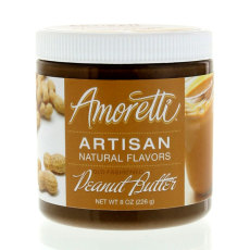 Amoretti Peanut Butter Artisan Natural Flavoring, 8 oz.