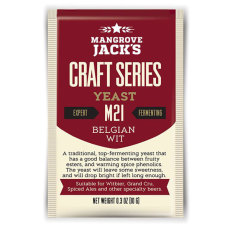 Mangrove Jack M21 Belgian Wit Yeast