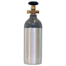 NEW Aluminum 2.5 lb. CO2 Tank